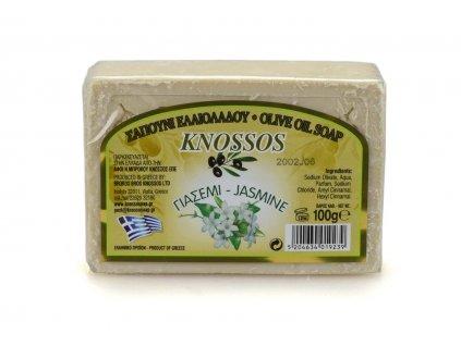 Řecké olivové mýdlo - jasmín 100g