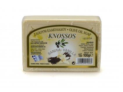 Řecké olivové mýdlo - vanilka 100g