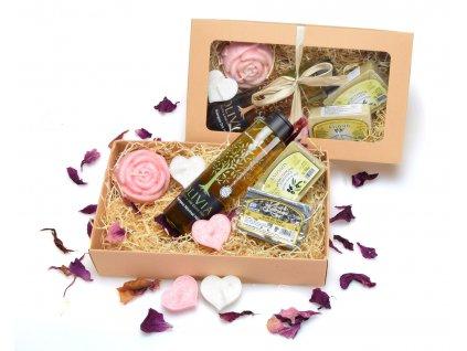 Přírodní kosmetika - dárkové balení