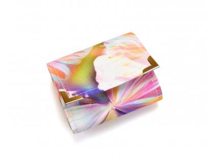 barevná motýlí abstrakce