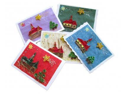 Vánoční přání - Kostelík