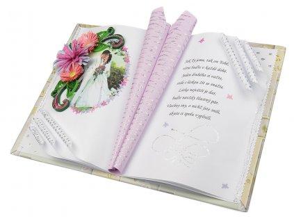 Gratulační kniha ke svatbě či výročí