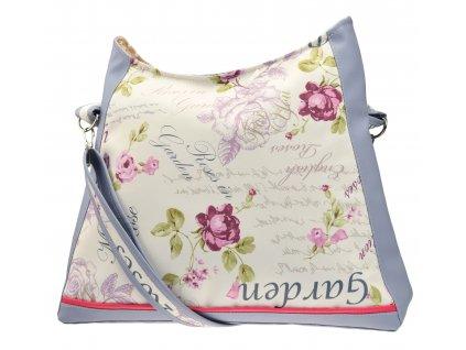 Crossbody kabelka - Zahrada růží