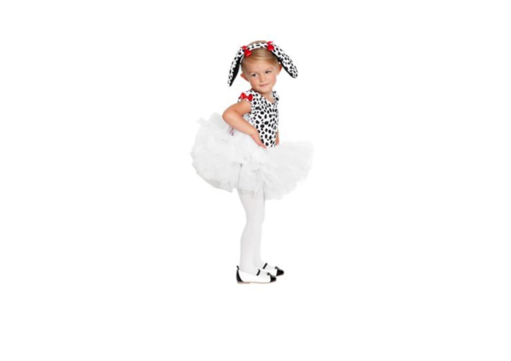 Fotonávod na kostým dalmatina