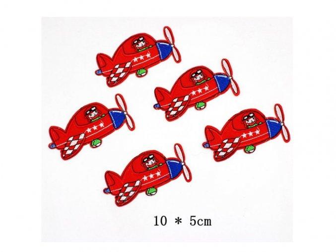Nažehlovačky letadlo