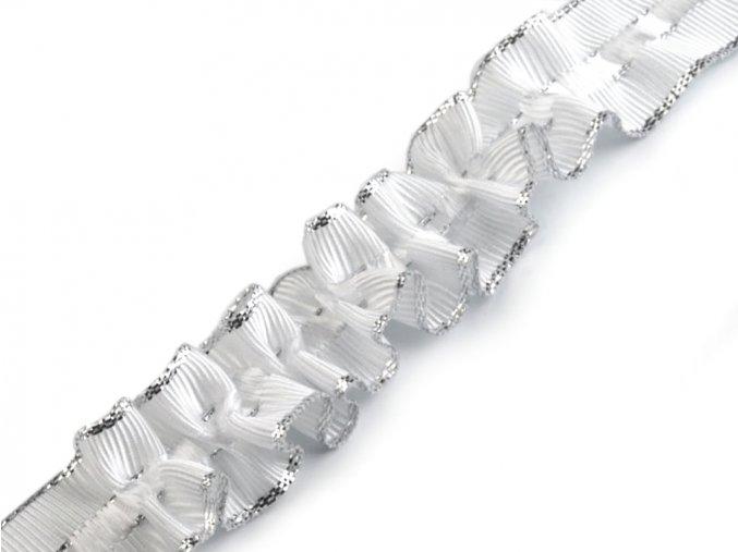 řasicí stuha bílá