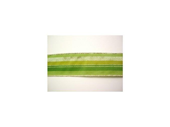 zelenozlata pruhy 40