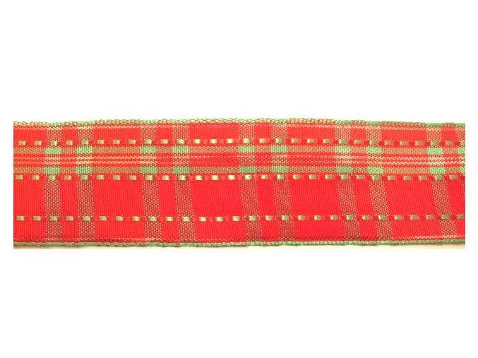 stuha červenozelená 2