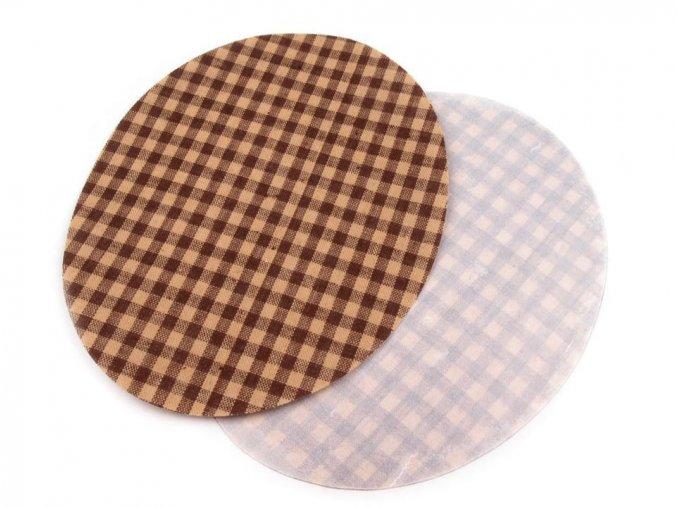 záplata hendocervena oval