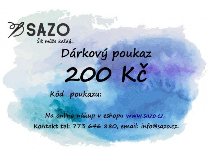 darkovy poukaz 200