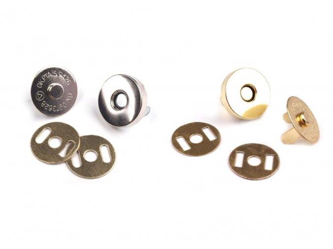 Magnetické zapínání průměr 15 mm