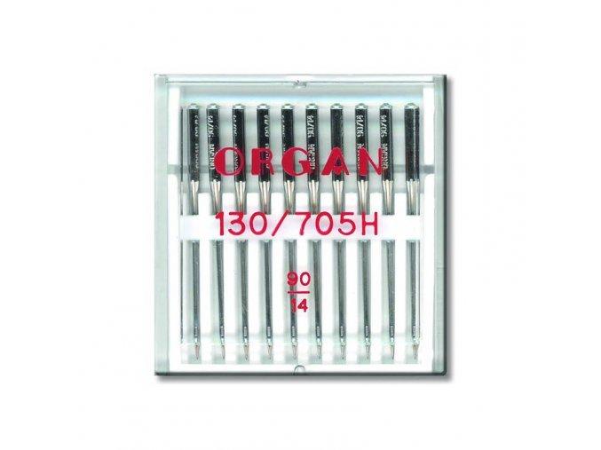 strojove jehly organ universal 130705 h 90 10ksplastova krabicka