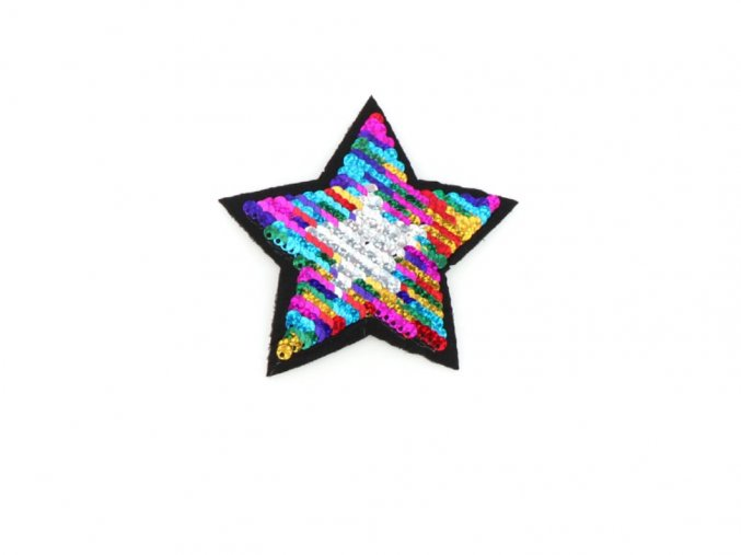 hvezda barevna mala