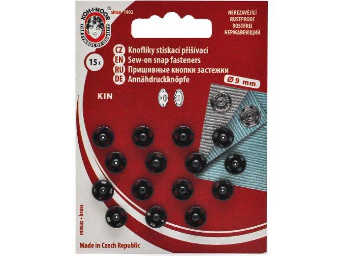 patentky kin 9 mm černe