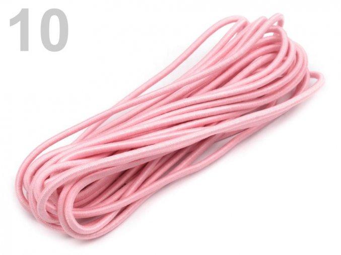 Kulaté pruženky různé barvy průměr 2 mm, svazek 3 m