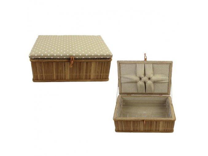 kazeta bambus puntik