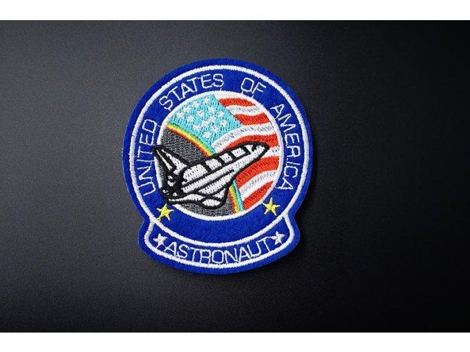 znak USA astronaut
