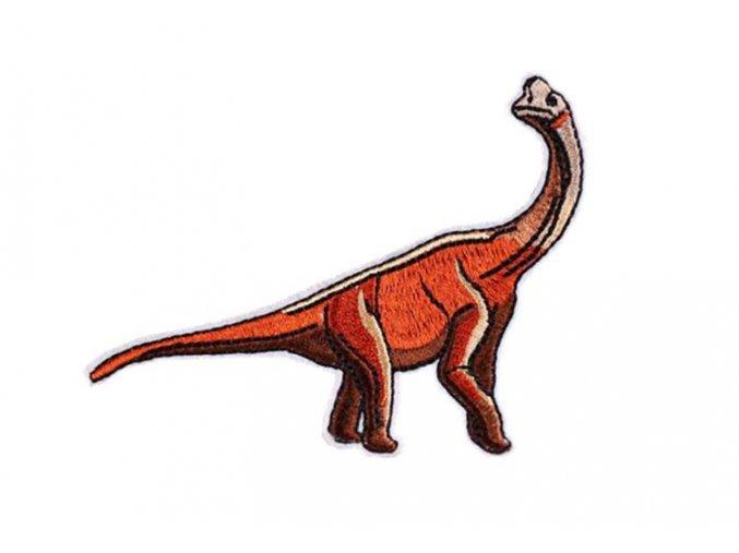 dinosaurus oranožovohnědy