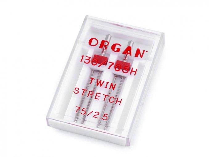 dvojjehla organ 75 2 ok