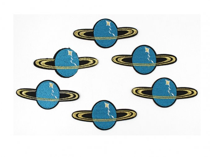 planeta modra s prstenem