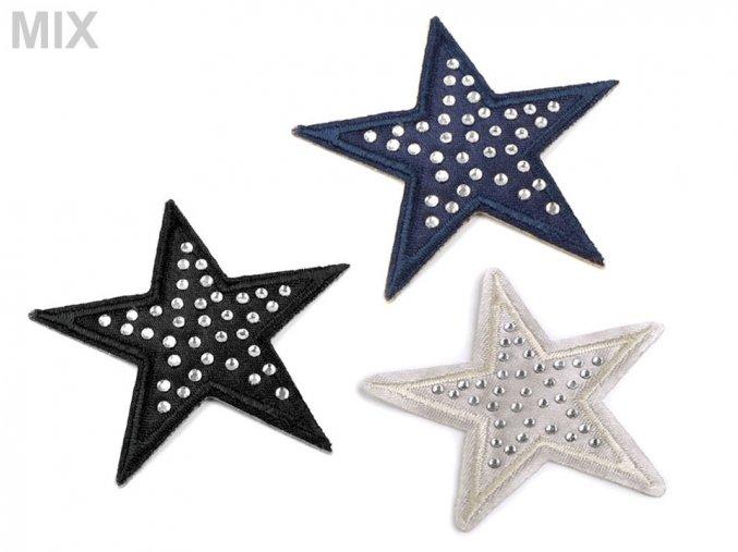 nazehlovacka hvezda s kaminky mix 2