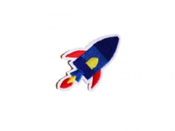 raketa modrá s červenou lepsi