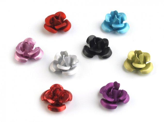 kovové růžičky