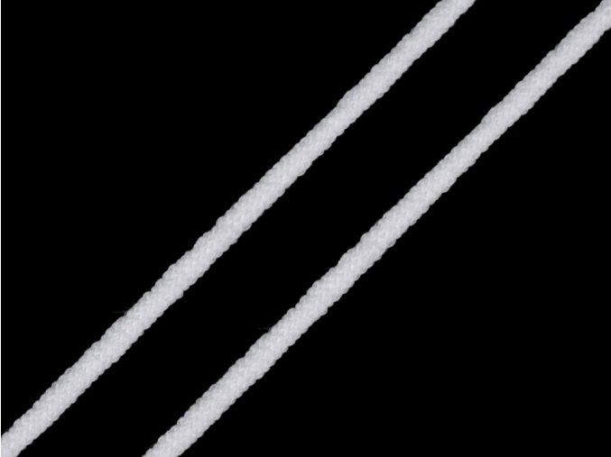 Kulatá pruženka měkká průměr 2 mm, bílá