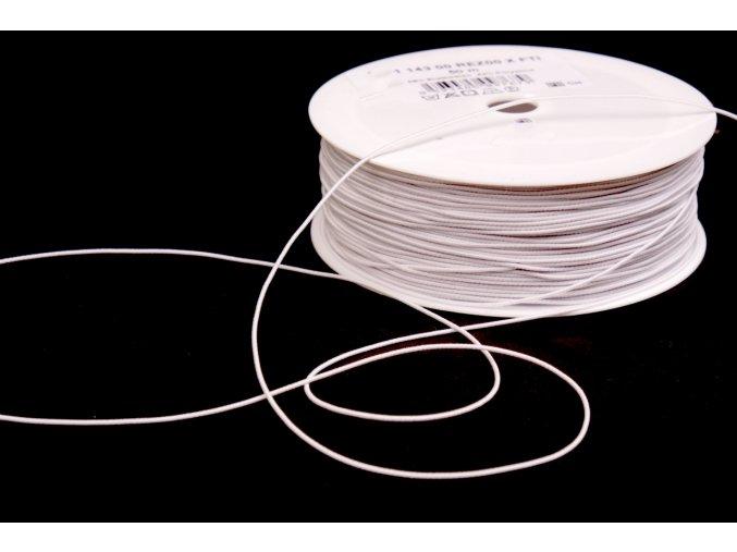 Pružná nit Optex průměr 0.8 mm, černá a bílá