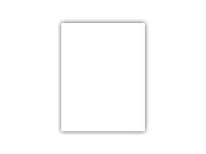 Klasické záplaty jednobarevné barva bílá