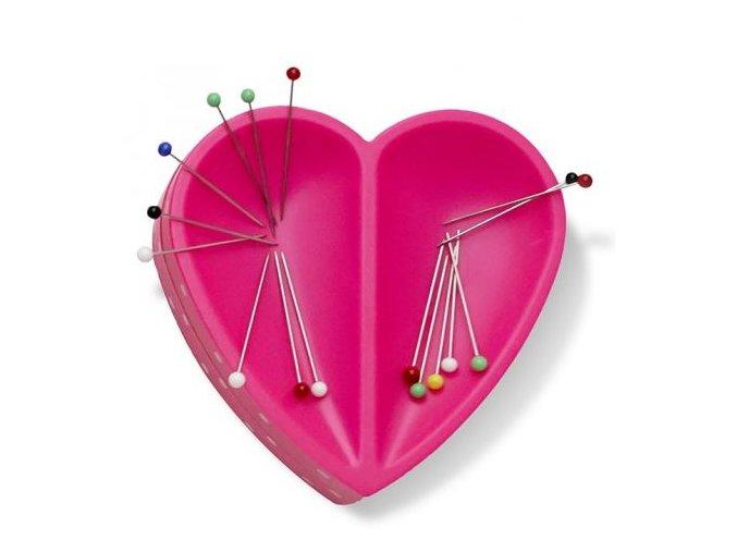 prym love magneticka podlozka pod jehly srdce