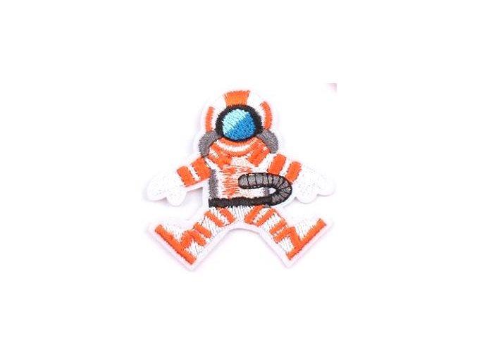 nažehlovačka kosmonaut menší