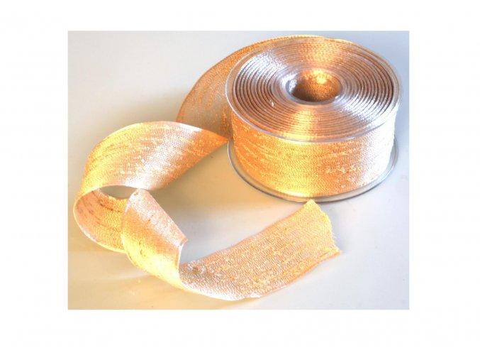 stuha zlata 40 mm