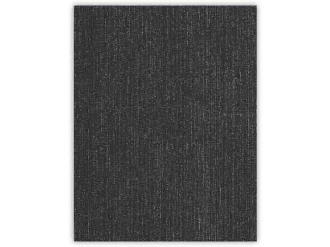 Velké riflové nažehlovací záplaty tmavě šedá