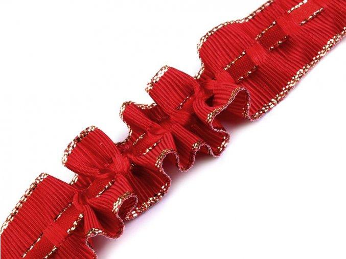 řasicí stuha červená 2