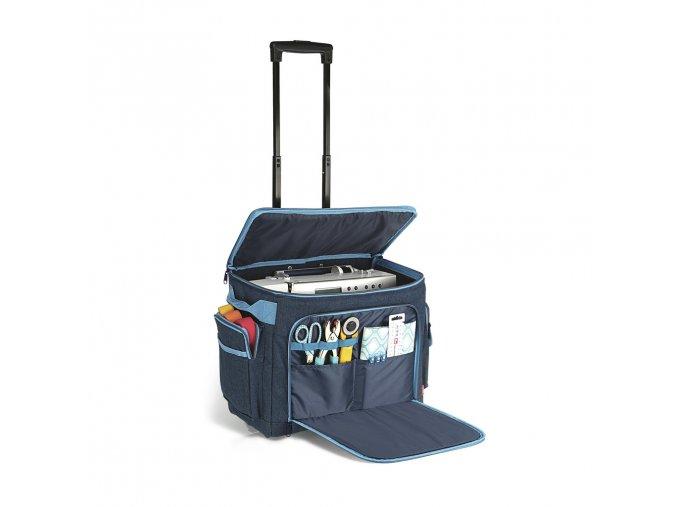 kufr na stroj denim