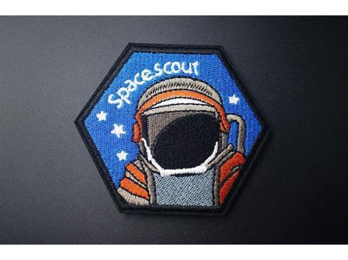 nažehlovačka znak kosmonaut 3