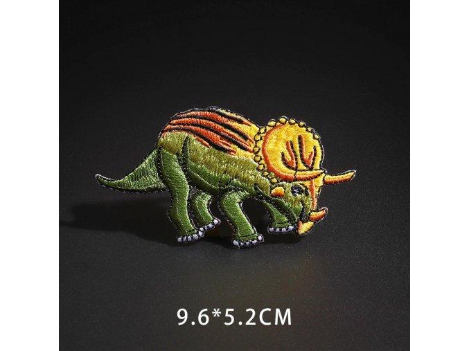 nažehlovačka dinosaurus pancéřovaný