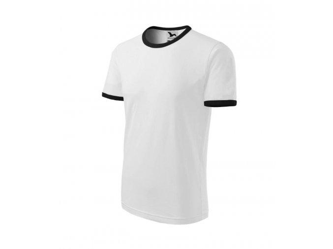 Tričko infiniti bílé