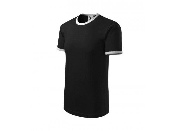 Tričko infiniti černé