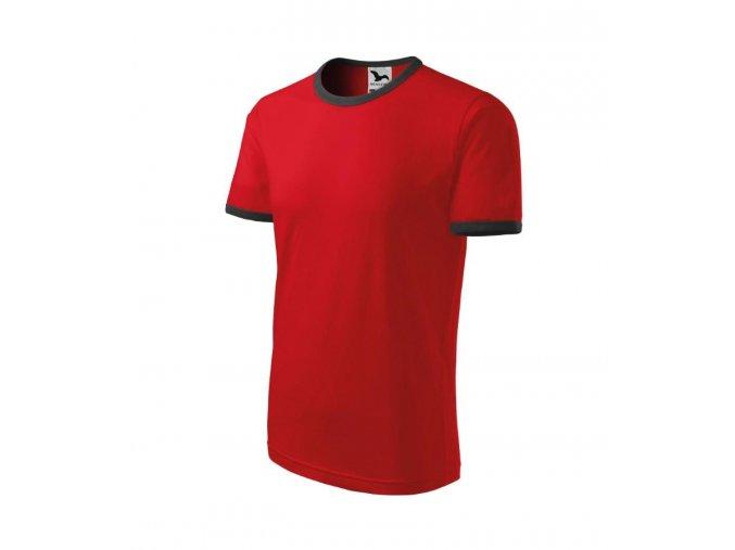 Tričko infiniti červené