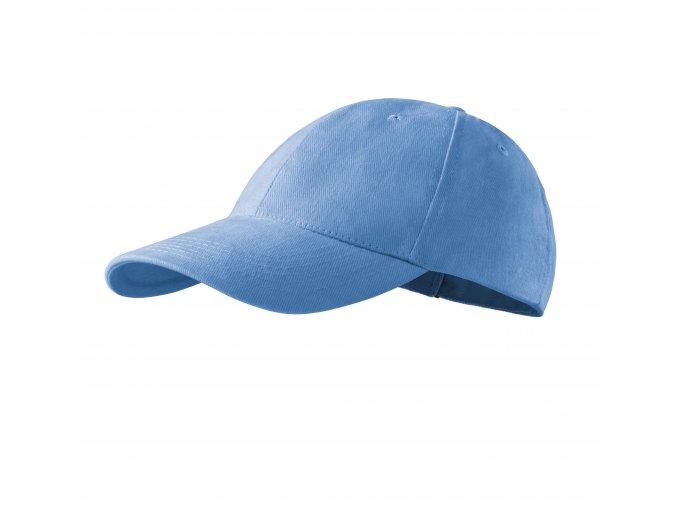kšiltovka světke modrá