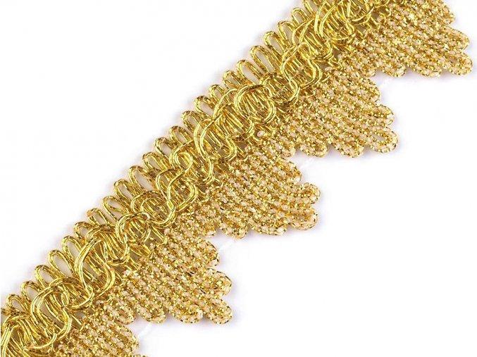 prýmek leonský zlatý