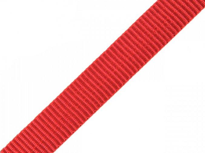 popruh syntetický 15 mm červený
