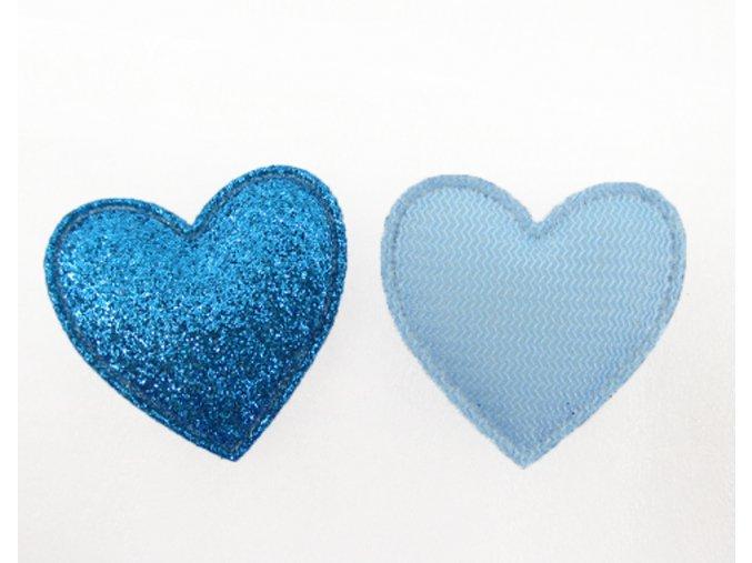 ozdoba srdicko modre