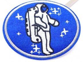 nažehlovačka znak kosmonaut