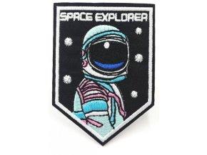 nažehlovačka znak astronaut