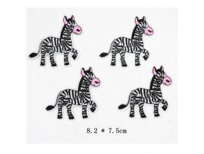 Nažehlovačka zvířátka Zebra