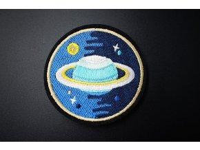 nažehlovačka kulatá s planetou 2