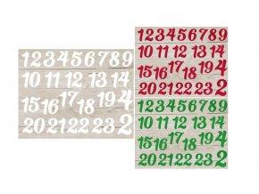 cisla na kalendar mix